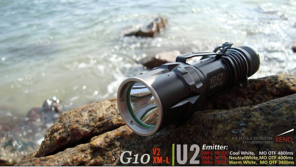 Outdoor use, Tactical LED Flashlight, XENO G10