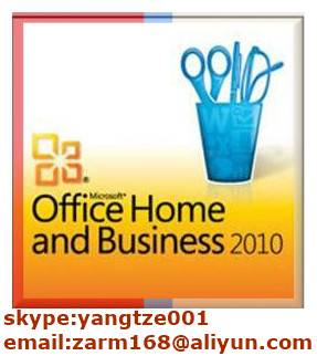 Office 2010 Home and Business FPP Key