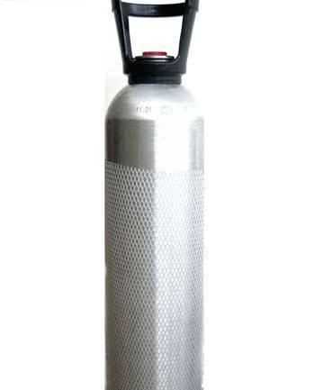 Aluminun Gas Cylinder for Beverage