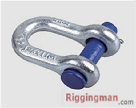 ROUND PIN CHAIN SHACKLE U.S TYPE,drop forged