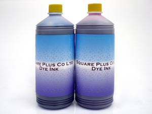 Eco Solvent ink and Dye ink