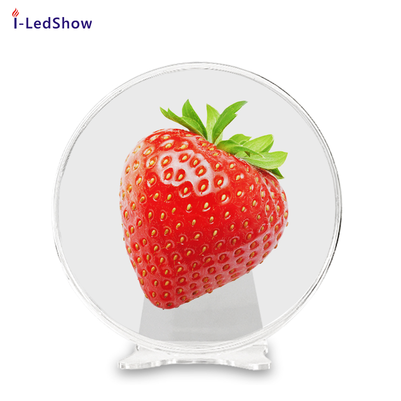 iledshow New Design High Resolution with WIFI App Control led fan 3d hologram display
