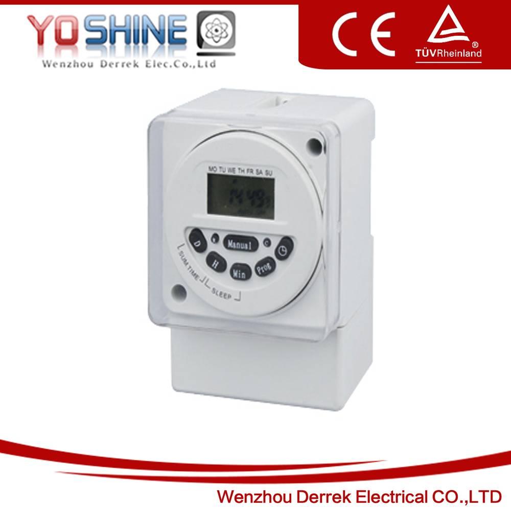 YX190 AC DC weekly digital timer switch