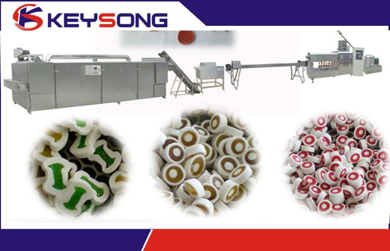 Hot Sale Pet Chewing Processing Machinery