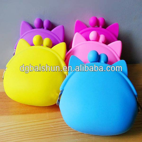 Hot Sell Silicone Coin Wallet