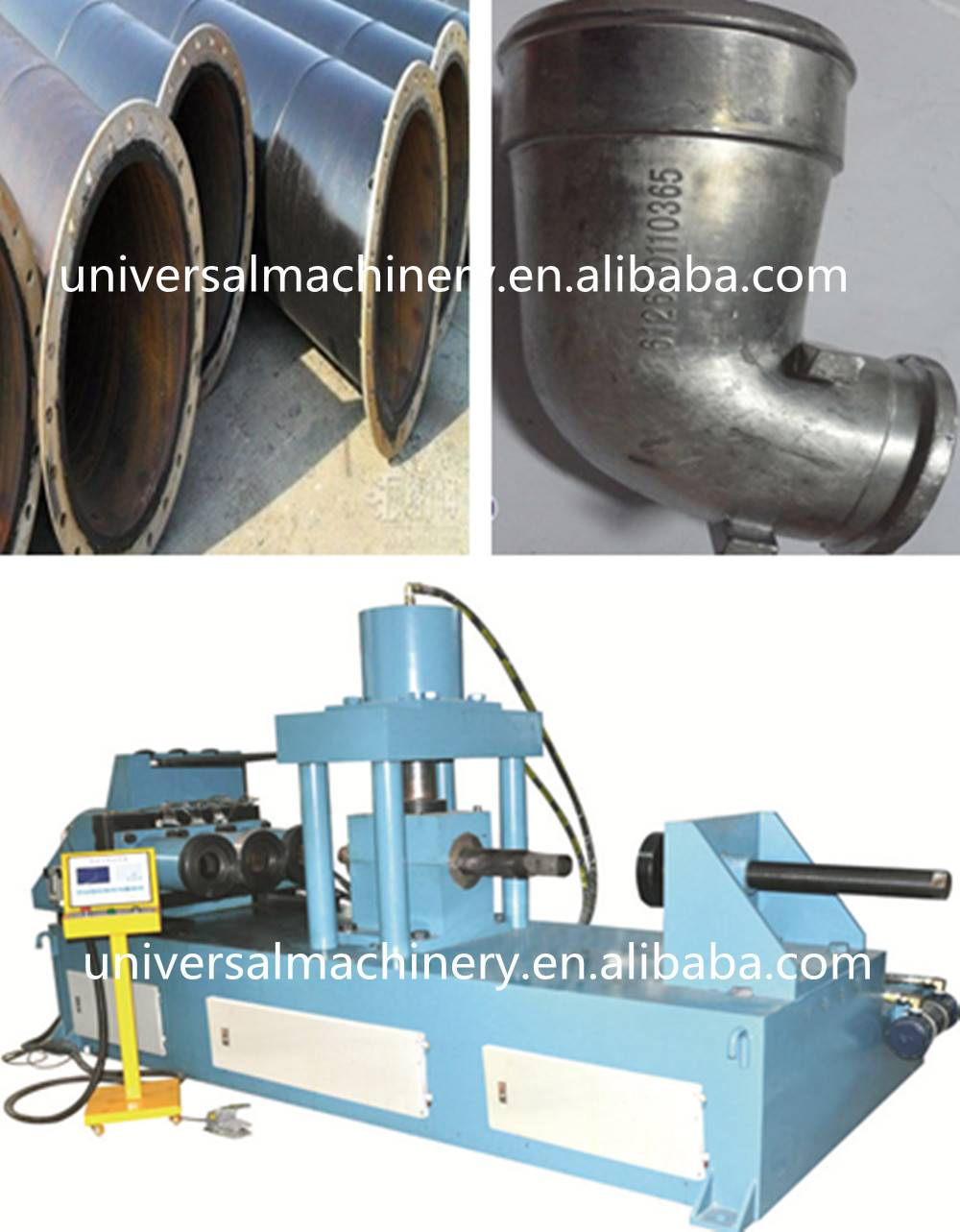 Global Warranty factory price Pipe Expanding Machine for pipe expanding reducing flanging
