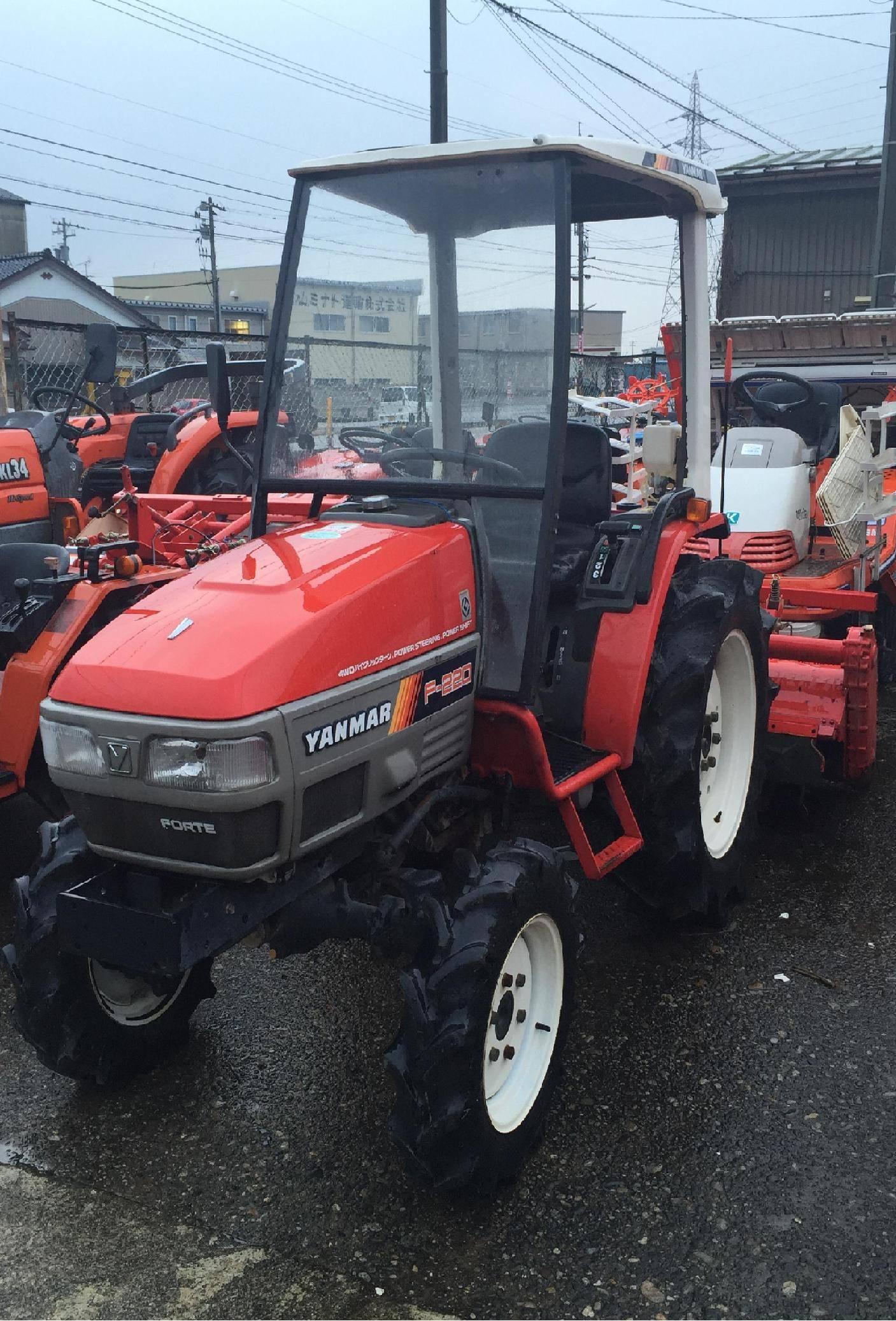 Used tractor Yanmar F-220