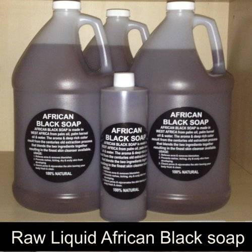 african black liquid soap