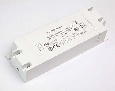 45W 0-10V Dimmable LED driver with 88% efficiency and TUV, SAA,CE certificate
