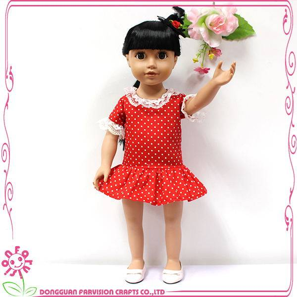 Curly hair girl doll,porcelain dolls 18,hot Chinese girl