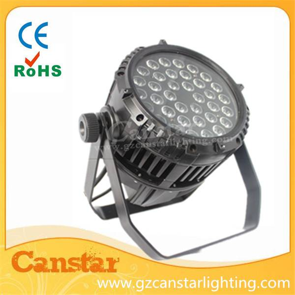 36x3w led waterproof par light outdoor stage lighting