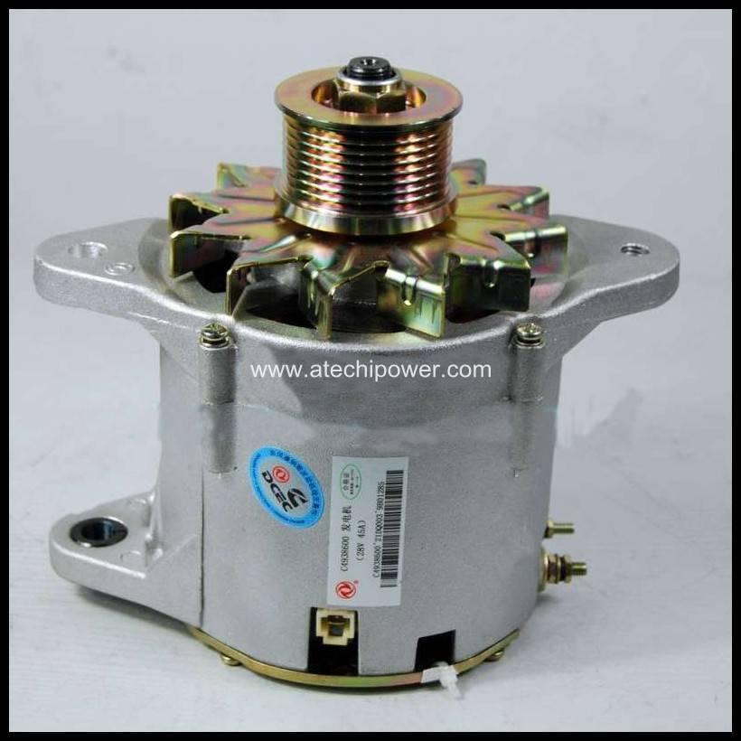 cummins charging alternator