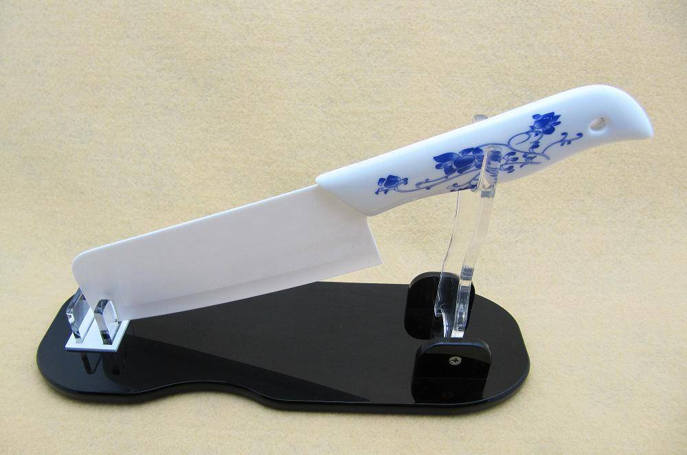 Knife display with ceramic knife,kitchen knife