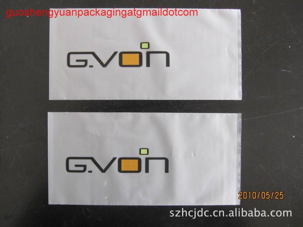 Cpe self adhesive bag