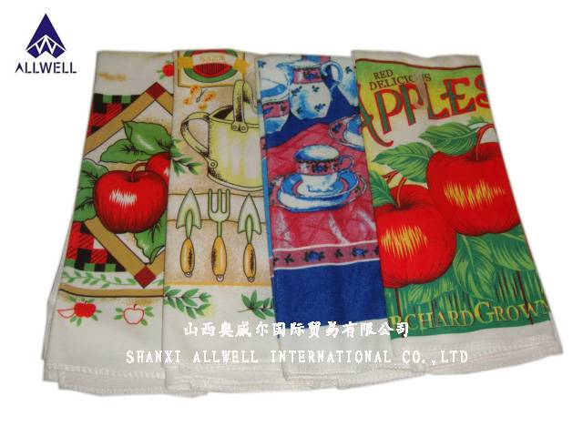 Printed Microfibre Kitchen Towel