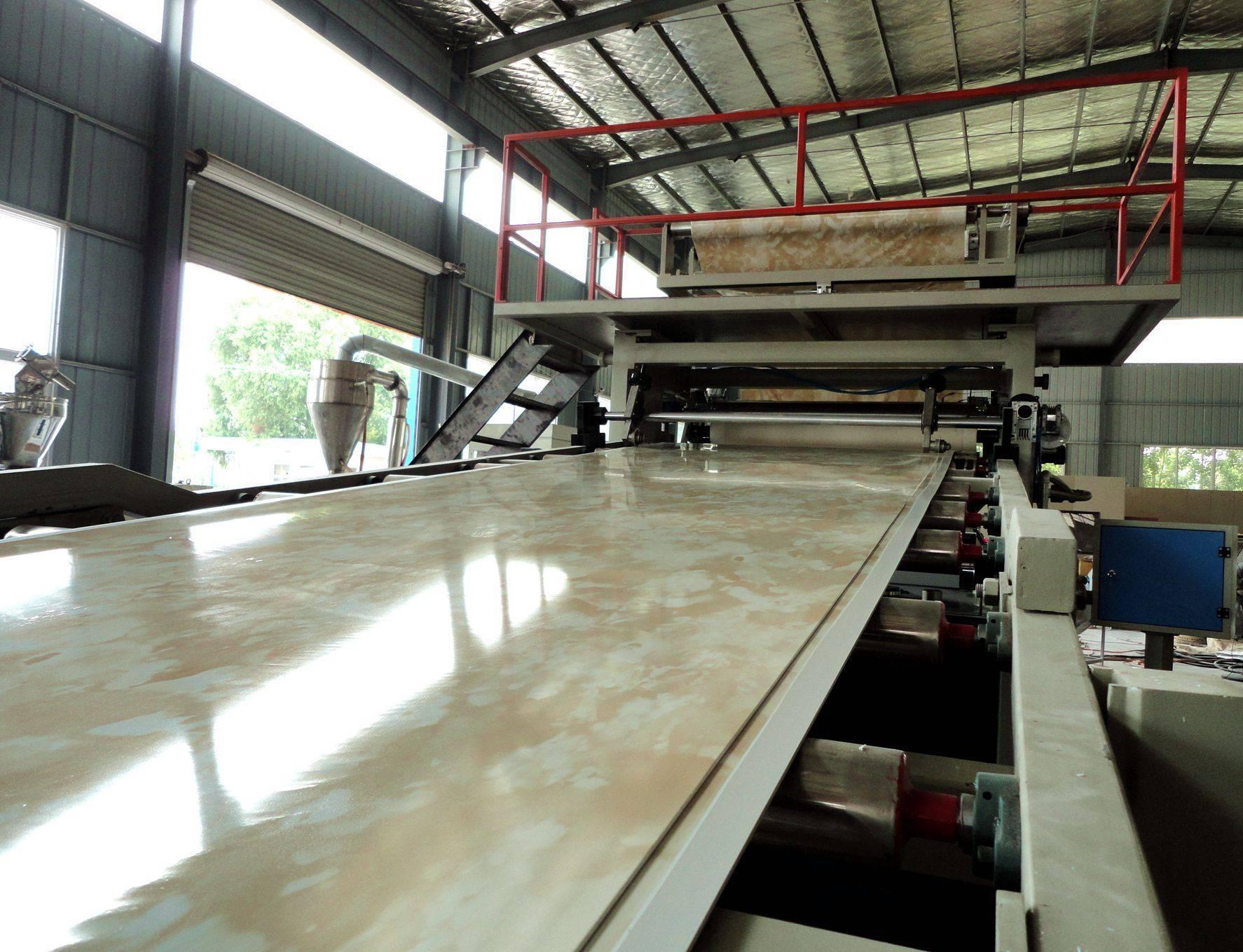 PVC Imitation Marble Wall Panel Production Line