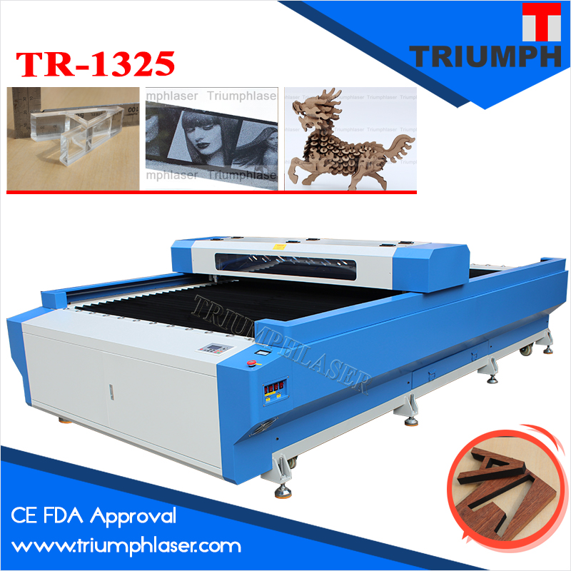 13002500mm 130W laser cutting machine