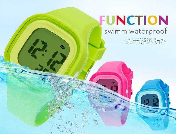 new design luminous sport wristwatch