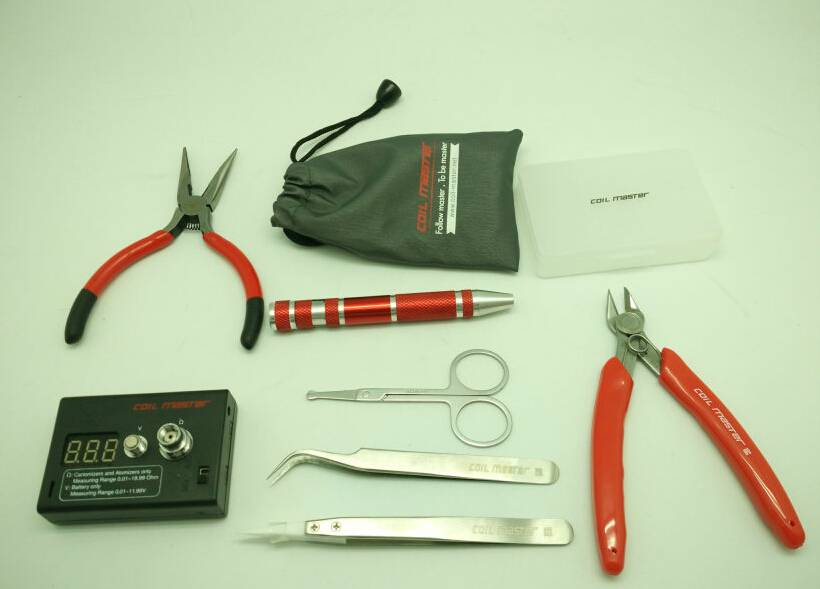 First stock coil master diy tool kit best coil master tool case for e-ciagrette