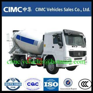 Sell HOWO 6x4 concrete mixer truck