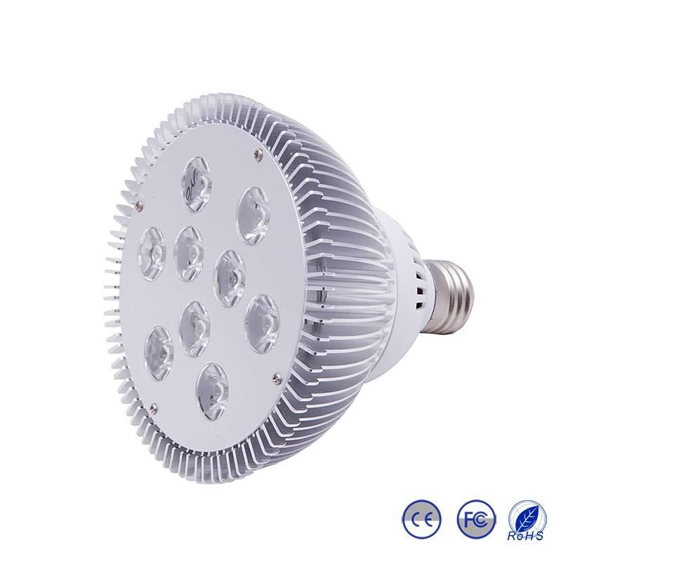 9W PAR38 LED PAR Light, E27/E26 LED PAR Light