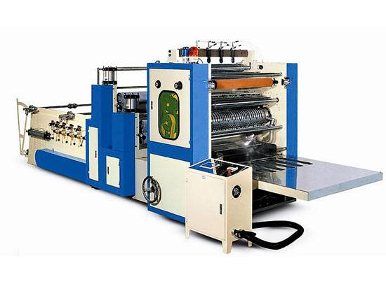 Box-Type Tissue Napkin Making Machine (Four to Six Routes) JWC-CJ4-6