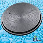 SMC Composite Watertight Manhole Cover to Gas Station With Anti Static Electricity BS EN124