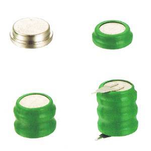 3.6V button cell rechargeable battery pack