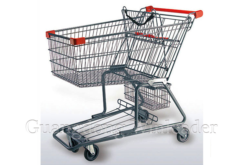 YLD-CT220-1FB Canadian Shopping Trolley Canadian Style Shopping Cart,Canadian Shopping Trolley