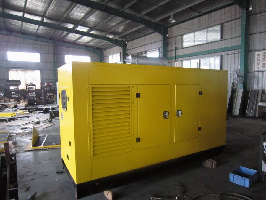 Silent Diesel Generator Set Volvo Engine with Water-cooled Marathon Alternator
