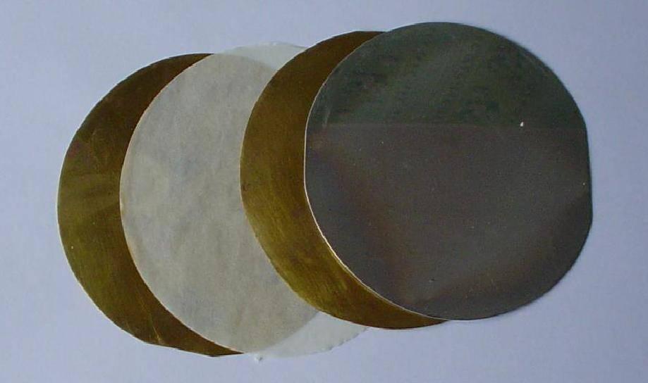 polished silicon wafer