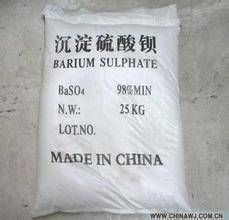 Pre- Cipitated Barium Sulfate