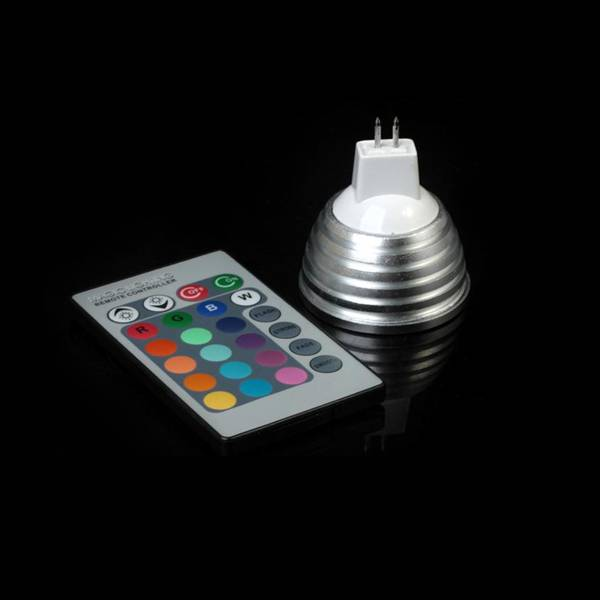 High efficient with good price RGB spotlight / led rgb bulb lights