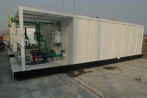 drilling fluid water tank