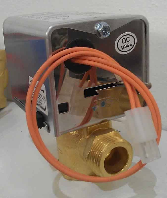 sell 2 way male motorized valve