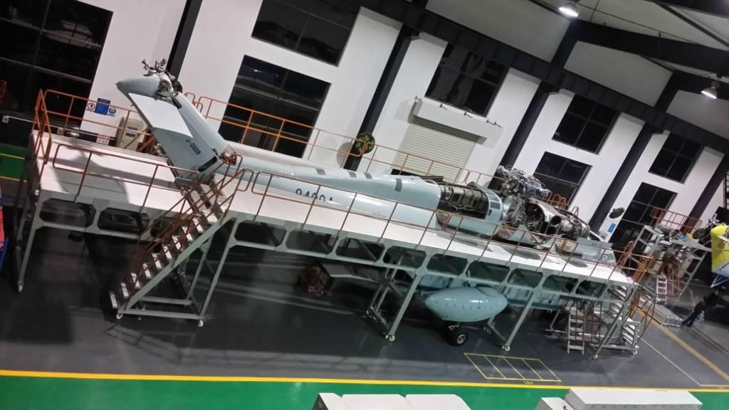 Aircraft Maintenance Aluminium Platform