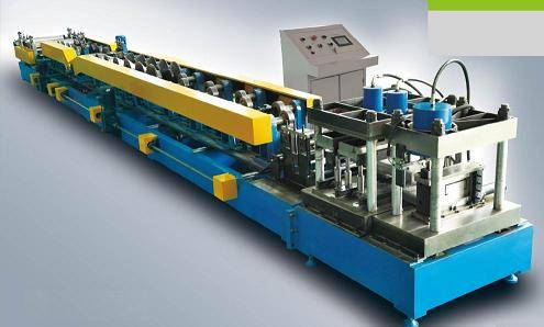 Galvanised Steel C & Z Profile Purlin Roll Forming Machine For Sale