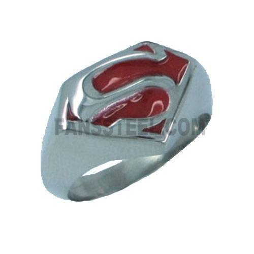 superman steelman batman ring