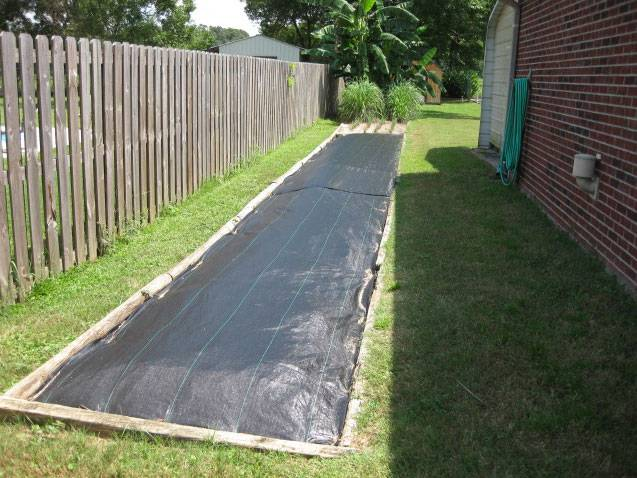 supply pp woven weed control mat