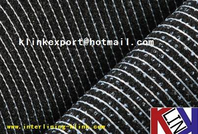KNITTED FUSIBLE INTERLINING FOR GARMENT 60-160gsm ---best seller