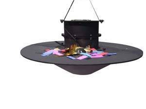Sell Swirl Confetti Machine MYC-D stage conffetti machie