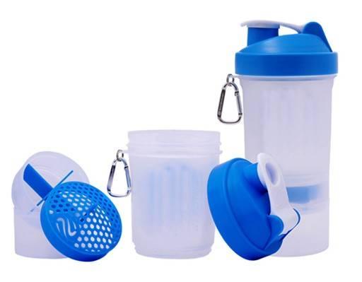 protein shaker bottle/shaker bottle/blender bottle with spring ball 20oz