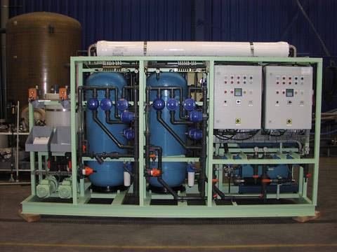 Seawater desalination equipment 600T/H