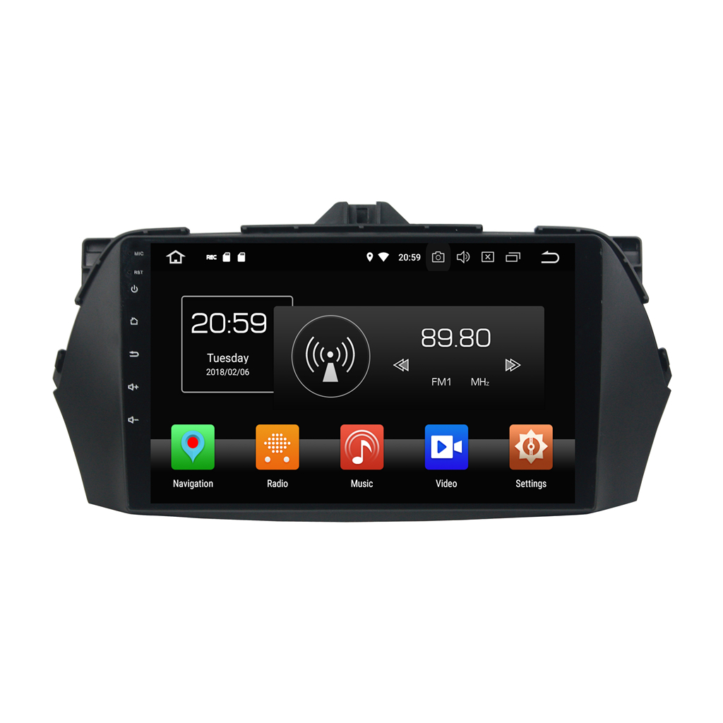 546cb5599790 KD-9628 android 8.0 9 inch dashboard car radio dvd player for CIAZ 2013-