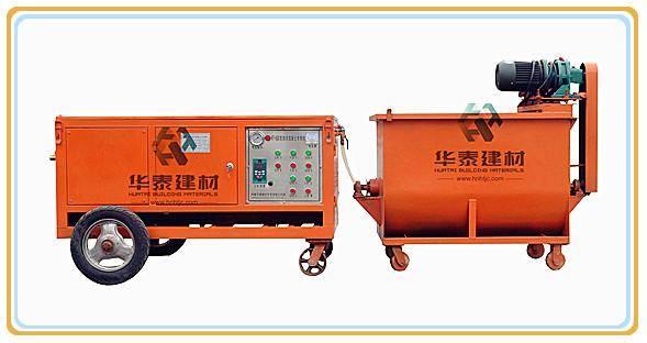 HT-60 foam concrete manufacturing machine