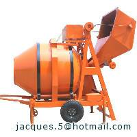 500L diesel concrete mixer with mechanical tipping hopper(concrete mixer JZR350)