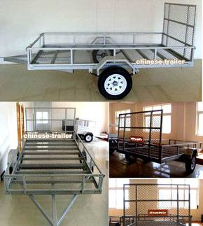 ATV Trailer with DOT/Emark approval, powder coated or galvanized