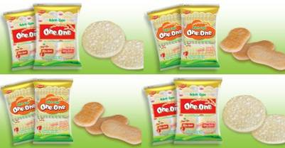 We sell ONE ONE Rice Cracker, YORI Rice Cracker, made in Vietnam