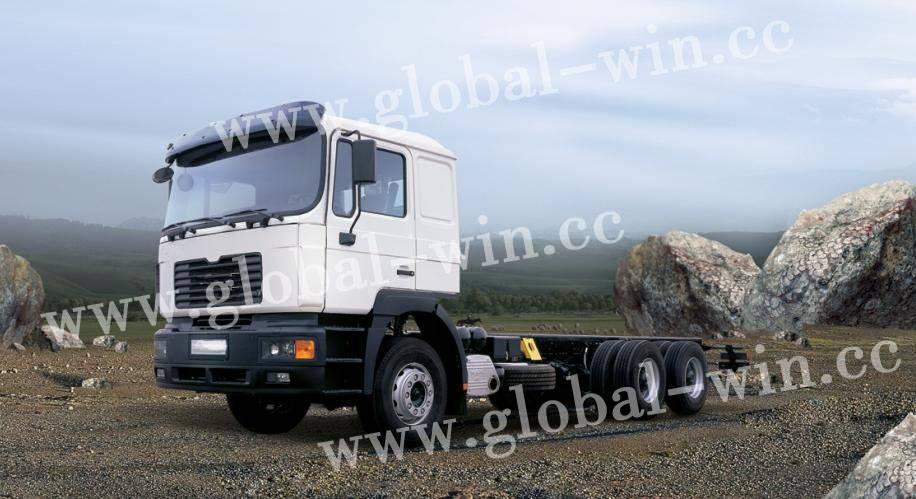 Chassis Truck GW1250FD1J1(6X4),YTQ2250FD1J1(6X6)