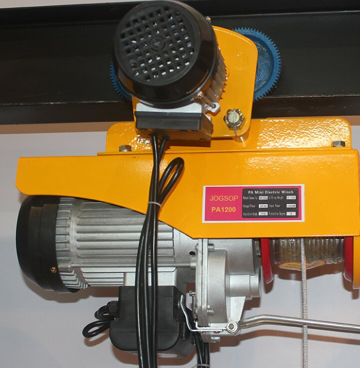 250kg,110V small suspending electric hoist